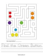 Find the Green Button Handwriting Sheet