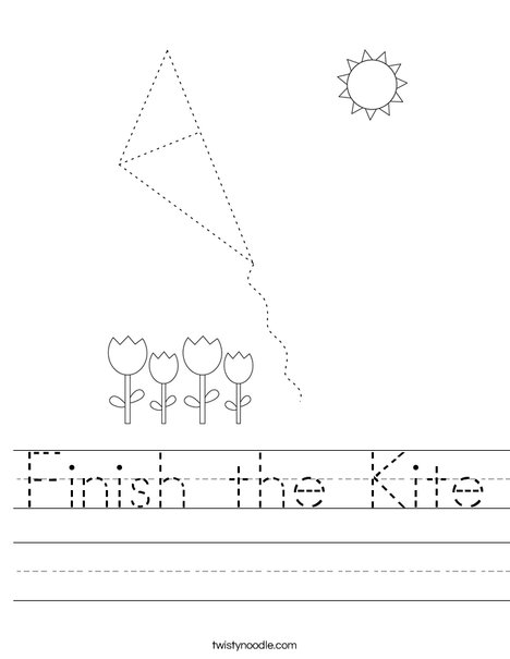 Finish the Kit Worksheet
