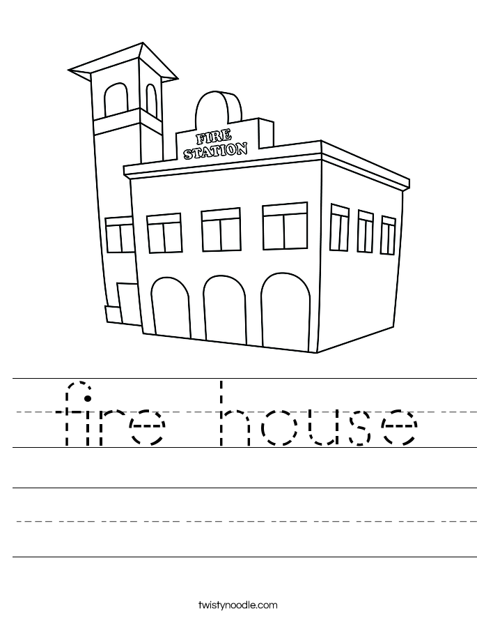 fire house Worksheet