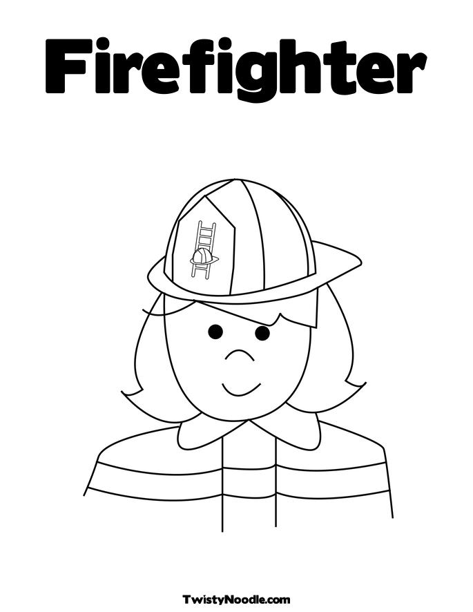 Fire Fighter Coloring Book Free Coloring Pages