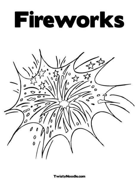 fourth of july fireworks coloring pages. Print Your Coloring Page