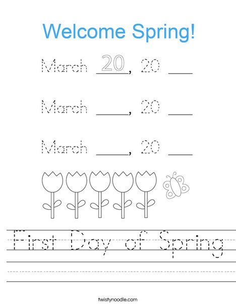 Today is March 19, 2020 Worksheet