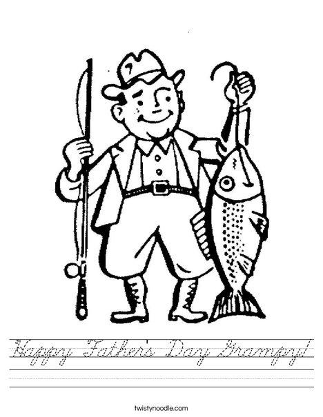 Fisherman Worksheet