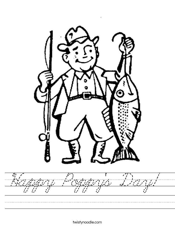Happy Poppy's Day!  Worksheet