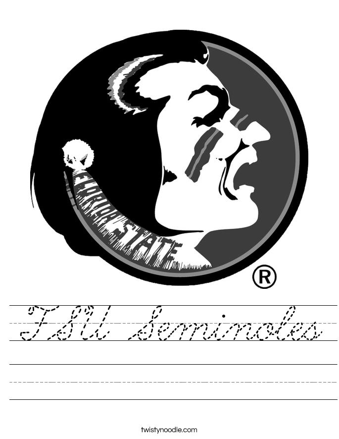 FSU Seminoles Worksheet