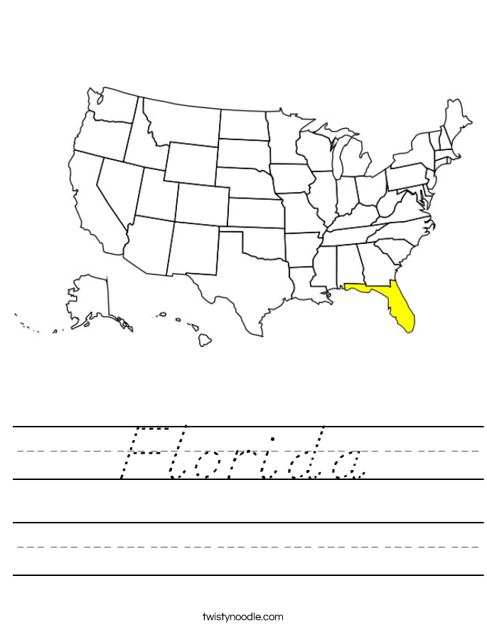 Florida Worksheet