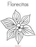 Florecitas Coloring Page