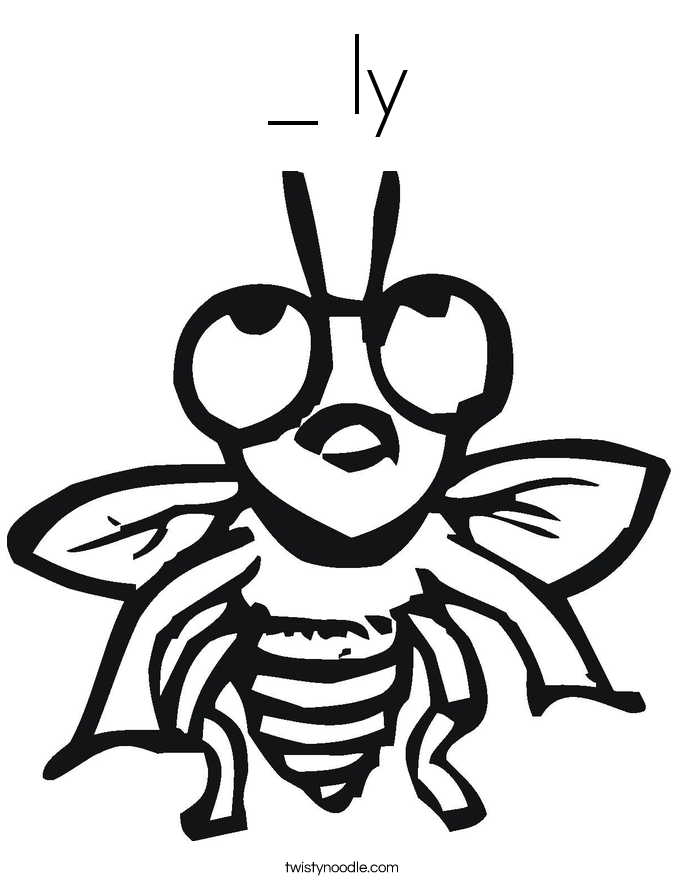 _ ly Coloring Page
