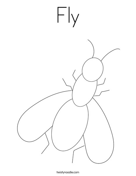 mosquito Coloring Pages Printable (1 Pictures) | Free Coloring Pages | 605x468