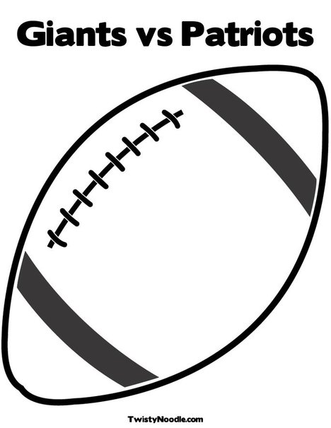 giants football coloring pages - photo#13