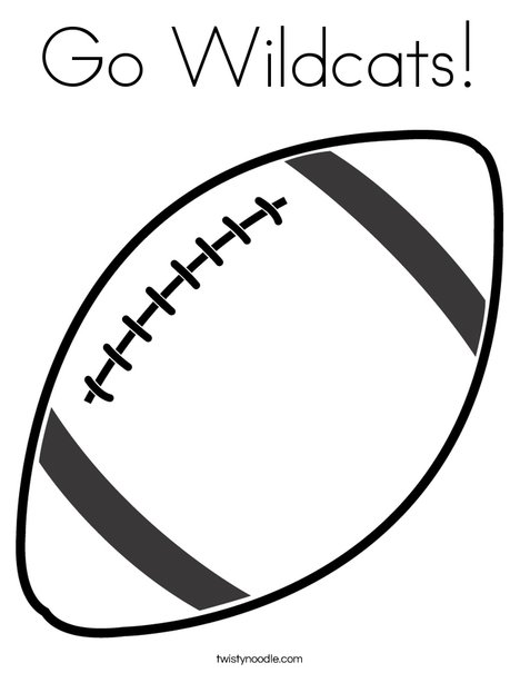 Football 2 Coloring Page