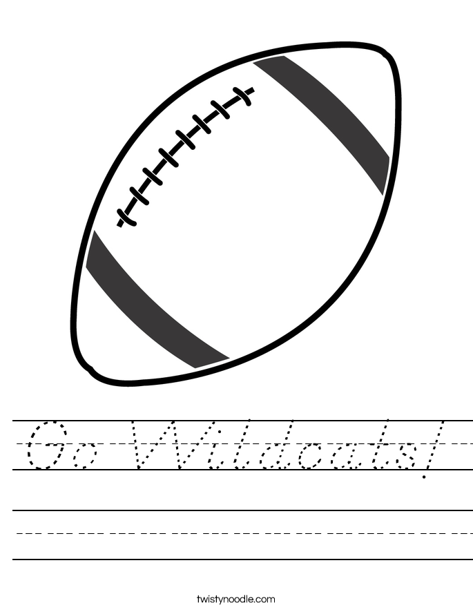 Go Wildcats! Worksheet