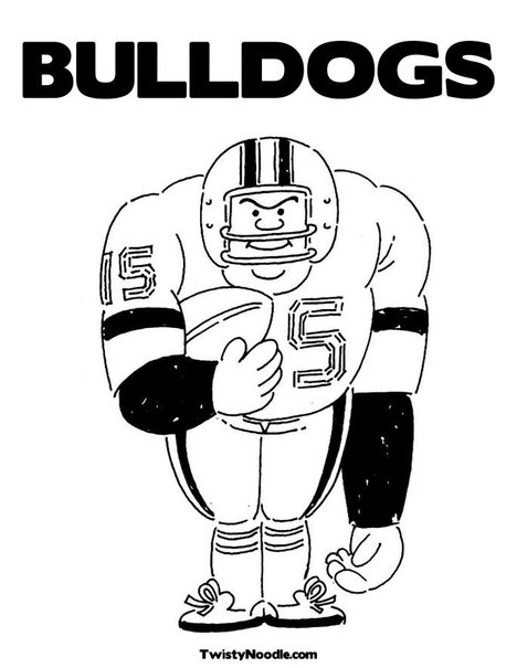 georgia bulldogs coloring pages - photo#32