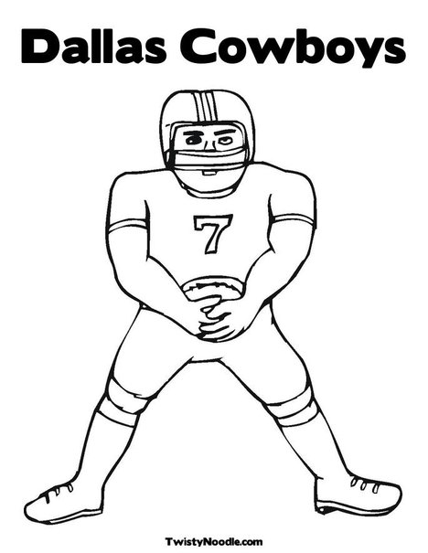 Dallascowboys free colouring pages for Dallas cowboys logo coloring page