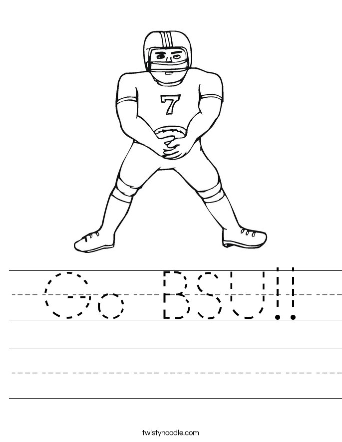 Go BSU!! Worksheet