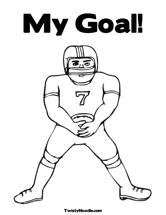 goals coloring pages - photo#5