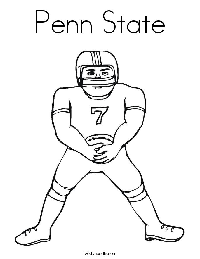 penn state university coloring pages - photo#6