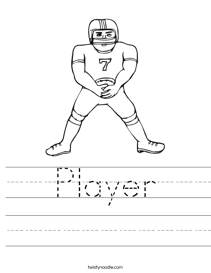 Player Worksheet