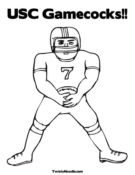 usc coloring pages - photo#8