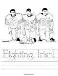 Fighting Irish! Worksheet