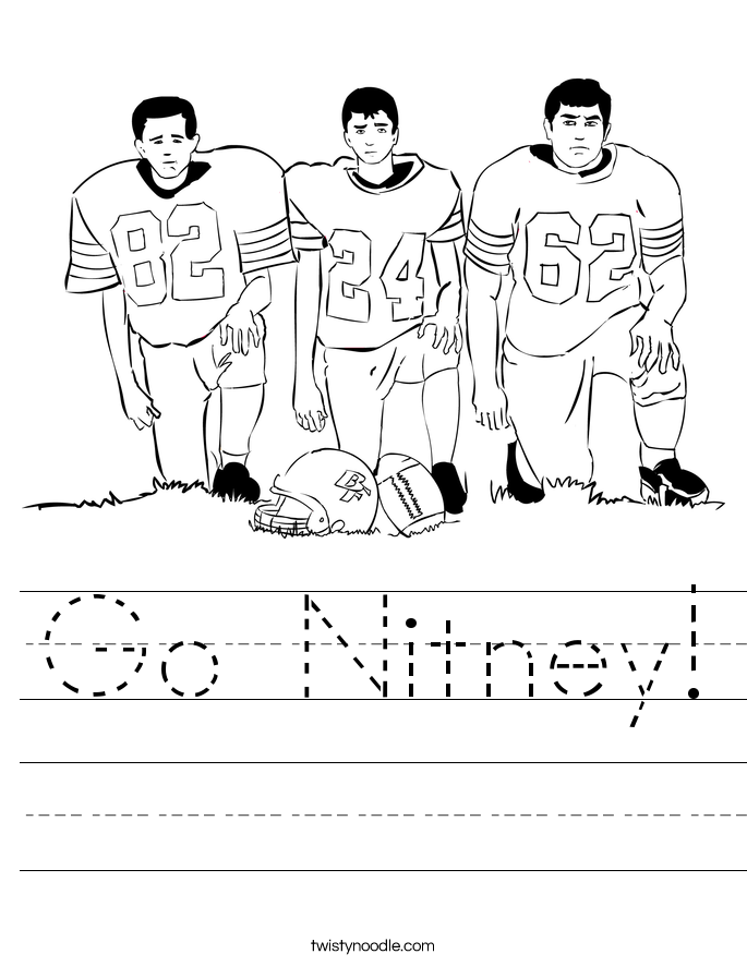 Go Nitney! Worksheet