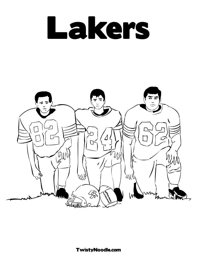 lakers logo coloring pages - photo#10