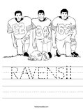 RAVENS!! Worksheet