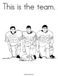 This is the team. Coloring Page