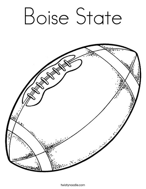 Boise state coloring page twisty noodle Fasting LDS Coloring Pages Boise State Art Boise State Helmet Coloring Pages