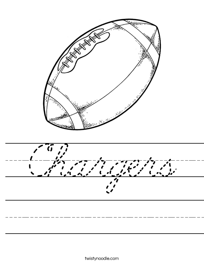 Chargers Worksheet
