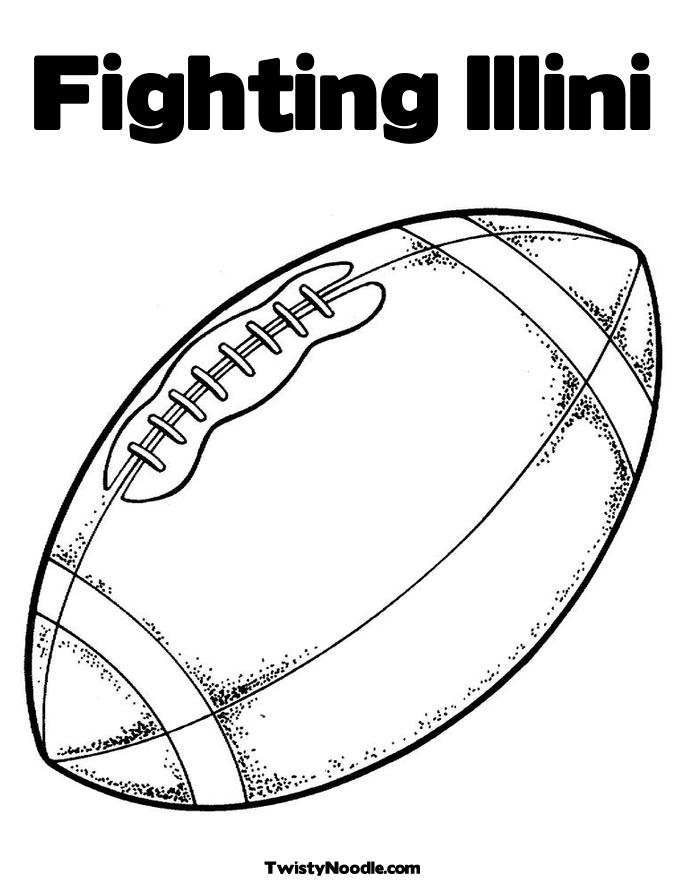 illini coloring pages - photo#6