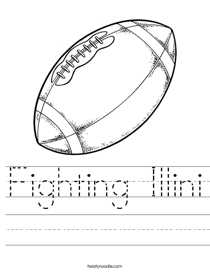 Fighting Illini Worksheet