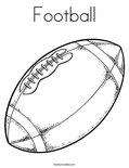 FootballColoring Page