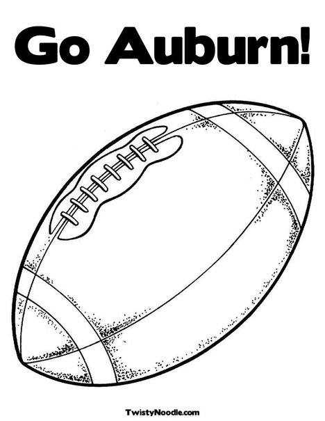 auburn tigers coloring pages - photo#4
