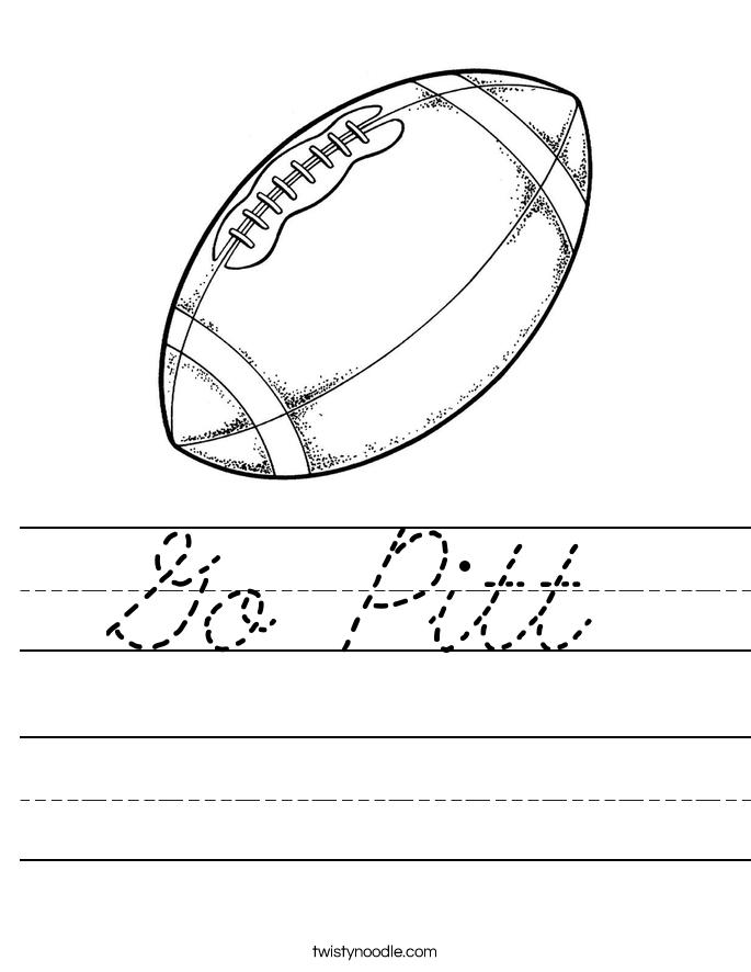 Go Pitt Worksheet