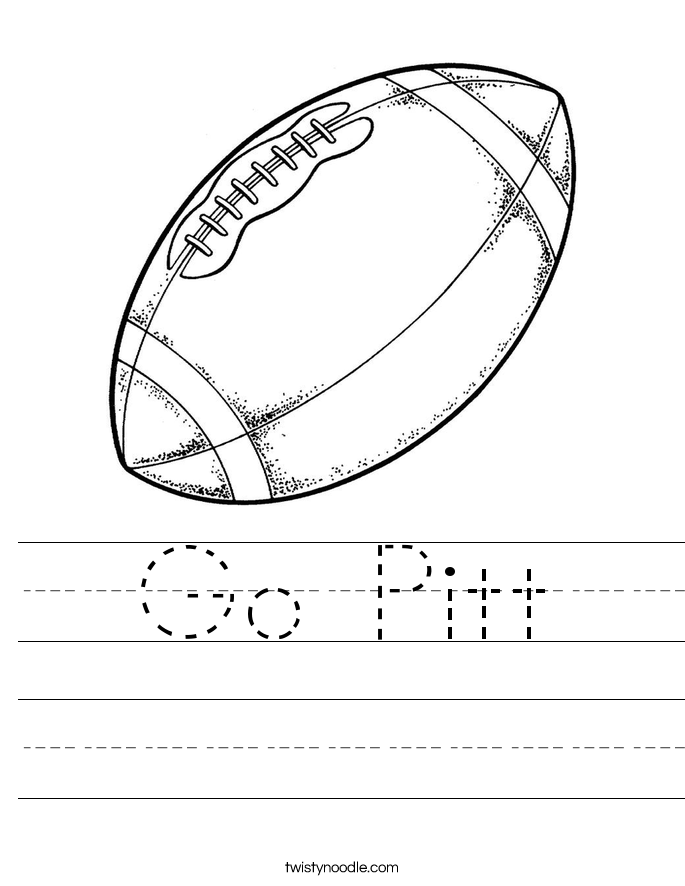 Go Pitt Worksheet