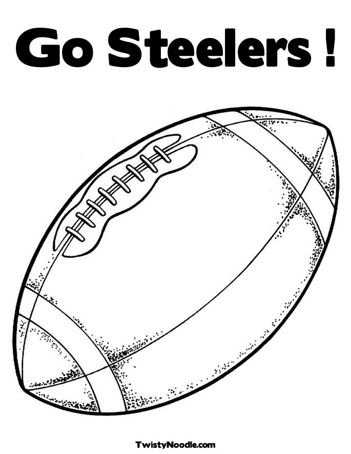 steelers free coloring pages - photo#17