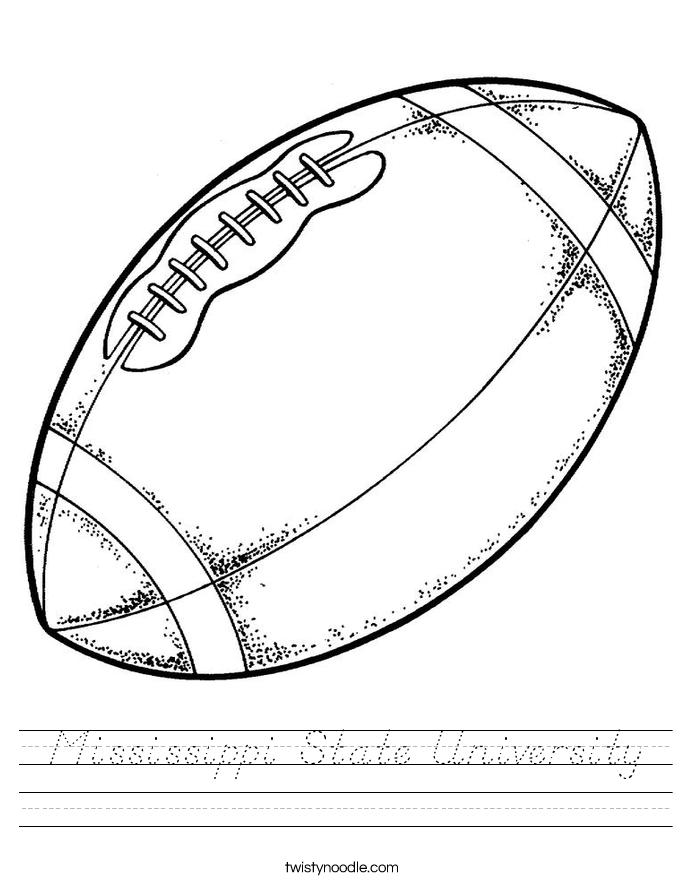 Mississippi State University Worksheet