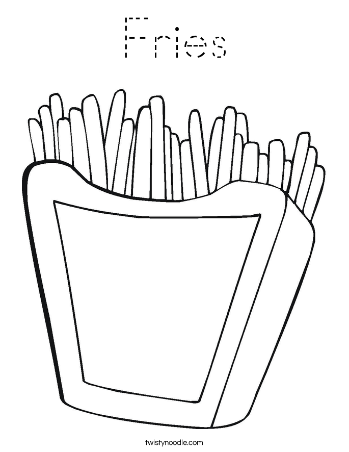 fries_coloring_page-blockoutline Traceable Letters Template on powerpoint design templates, decorative templates, spring flowers cut out templates, pipe templates, preschool cutting templates, sdlc examples templates, printable puppet templates,
