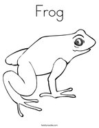 Frog and Toad Coloring Pages Twisty Noodle