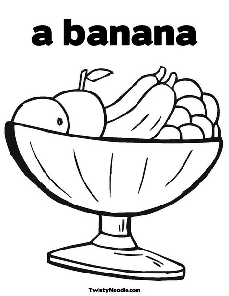 bowl of cereal coloring pages - photo#23