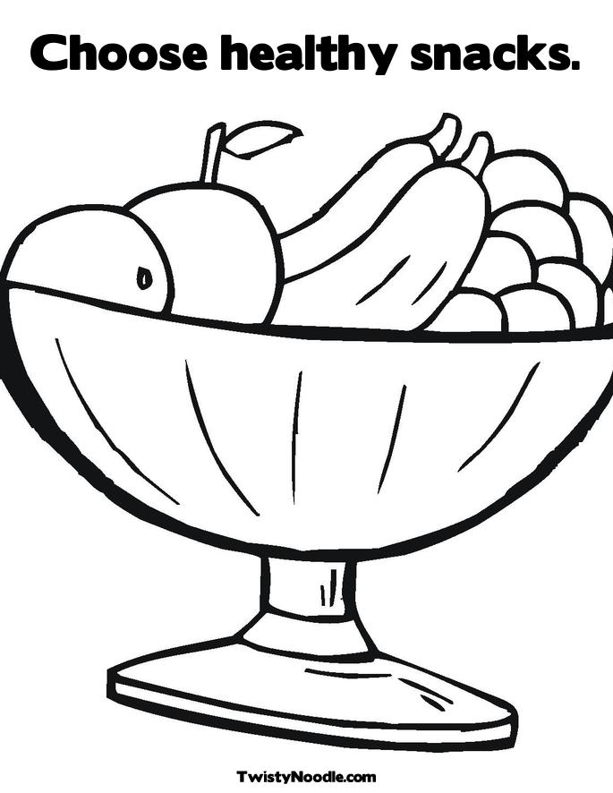 Healthy foods coloring pages free coloring pages for Healthy foods coloring pages