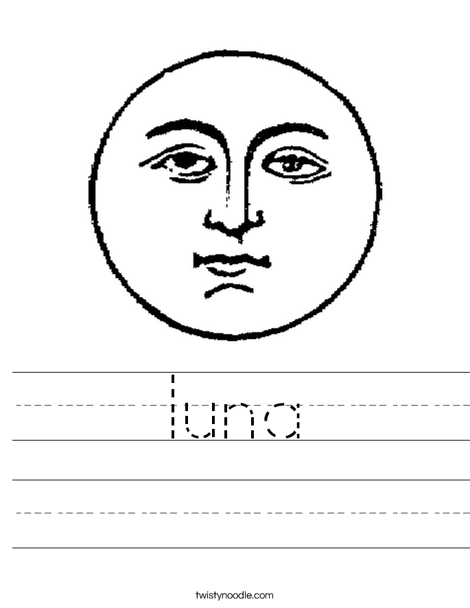 luna Worksheet