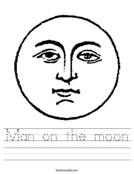 Full Moon Worksheet
