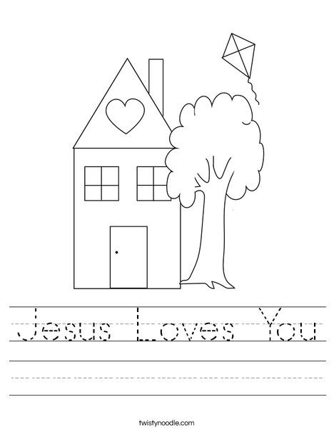 Christian Love Crafts Kids