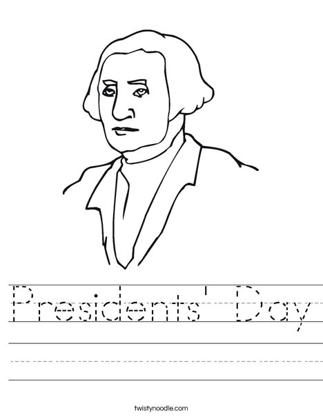 George Washington Worksheet