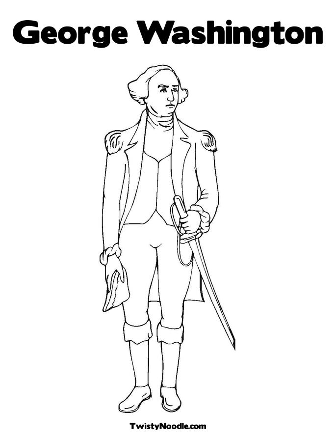 Printable Coloring Pages George Washington Coloring Pages Bear – George Washington Carver Worksheets