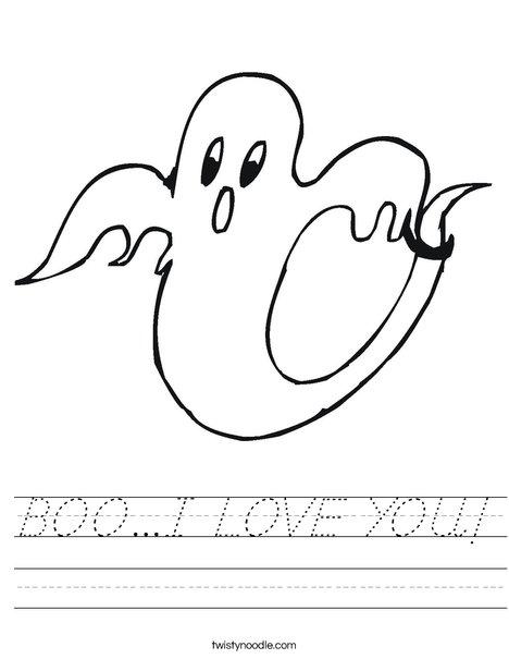 Ghost 2 Worksheet