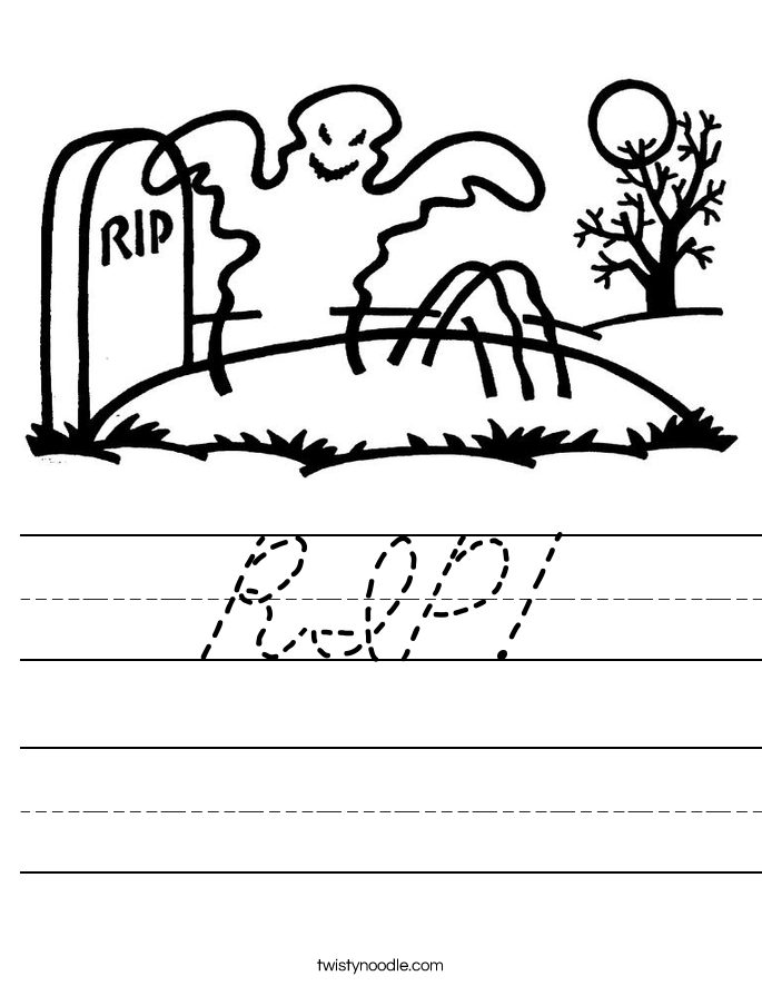 RIP! Worksheet