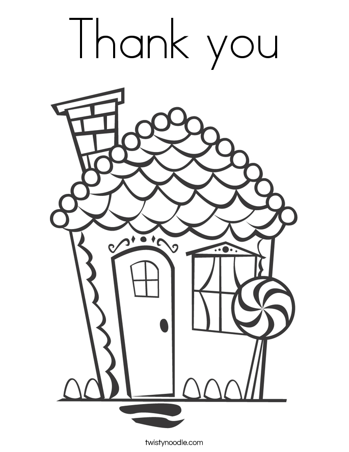 Birthday Thank You Coloring Pages Coloring Pages Thank You Colouring Pages